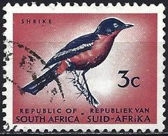 South Africa 1973 - Mi 433 - YT 337D ( Bird : Crimson-breasted Shrike ) Perf. 12½ - Afrique Du Sud (1961-...)