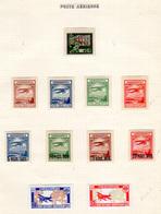 1922-27   URSS 1941, Poste Aérienne, PA 1* - PA 10 / 19*, Cote 105 €, - 1923-1991 URSS