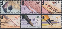 Tristan Da Cunha 2004 Mi 814 /9  SG 793 /8 ** History Of Writing / Geschichte Des Schreibens / Histoire De L'écriture - Talen