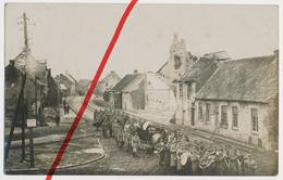 Original Foto - April 1916 - Poelcappelle Poelkapelle Pölkapelle - Beerdigung Eines 234ers - IR Infanterie-Regiment 234 - Langemark-Poelkapelle
