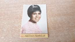 Figurina Panini Cantanti 1968 - Aretha Franklin - Edizione Italiana