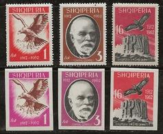 Albanie 1962 N°Y.T. :  601 à 603 + ND. * - Albanien