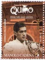 Lote EC40a, Ecuador, 2006,  Sello, Stamp, Corrida De Toros, Bullfight, Manolo Cadena - Ecuador