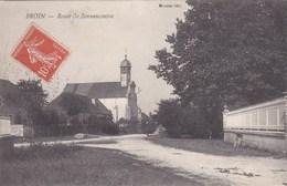 Broin - Route De Bonnencontre - CAD Auvillars-sur-Saône + Vosne-Romanée (21) - France