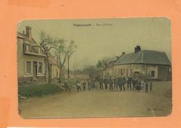 CPA Abîmée -  Vignacourt  - Rue D'En Bas - Vignacourt