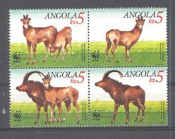 Angola  Michel #  799 - 802  **  4-er Block - Wild