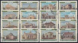 URSS / RUSIA 1955 Nº 1737/1752 USADO - 1923-1991 URSS