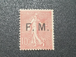 Timbre Franchise  N° 4 Neuf ** Gomme D'Origine, Signé SCHELLER  TTB - Franchise Stamps