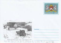 MOLDAVIE - 2002 - Entier Postal Neuf - Pont Sur La Prut - Moldavie