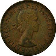 Monnaie, Australie, Elizabeth II, Penny, 1961, TB+, Bronze, KM:56 - Penny