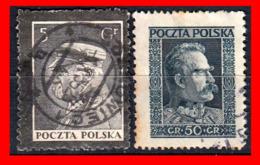 POLONIA (EUROPA )  SELLOS USADOS AÑO 1919-33 - 1919-1939 Republic