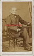CDV Notable-photographie Lemichel Succ De Gilbert à Rennes - Old (before 1900)
