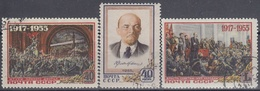 URSS / RUSIA 1955 Nº 1765/1767 USADO - 1923-1991 URSS
