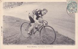CPA Sport Cyclisme Coureur Cycliste Tom BUTLER Champion Américain Vélo Bicyclette Cycling Radsport (2 Scans) - Cyclisme