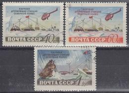 URSS / RUSIA 1955 Nº 1768/1770 USADO - 1923-1991 URSS