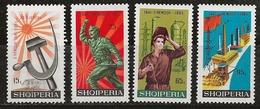 Albanie 1966 N°Y.T. :  928 à 931 * - Albania