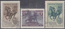 URSS / RUSIA 1956 Nº 1775/1777 USADO - 1923-1991 URSS