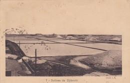 CARTOLINA - GIBUTI - SALINES DE DJIBOUTI - Gibuti