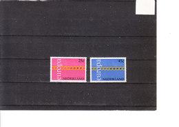 Europa 1971 Pays-Bas - Nederland - 1971