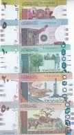 SUDAN 2 5 10 20 50 POUNDS March 2017 P-71 72 73 74 75 UNC SET */* - Soudan
