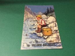 VALLORBE. BALLAIGUES. Illustre Par Jean BRIAN. Garçon Pêcheur Carte Avec Petites Vues Multiples - VD Vaud