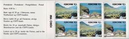 Faroer MNH Booklet - Holidays & Tourism