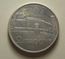 Estonia 2 Krooni 1930 Silver - Estonia