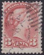 Canada   .    SG   .  Montral And Ottowa Printings   .    79     .     O    .    Cancelled     .   /    .   Gebruikt - 1851-1902 Regering Van Victoria