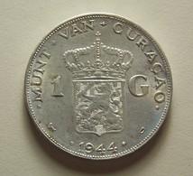 Curaçao 1 Gulden 1944 D Silver - Curaçao