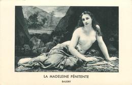 LA MADELEINE PENITENTE BAUDRY FEMME SEINS NUS - Schilderijen