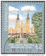 AUSTRIA ÖSTERREICH 2014 Kirchen In Österreich - 300 J. Basilika Mariatrost' 0,62  USED / O / GESTEMPELT - 2011-... Afgestempeld