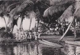 CARTOLINA - COSTA D' AVORIO - DèPART POUR UNE EXCURSION - SOEURS MISSIONNAIRES DE N. - D. DES APOTRES - Costa D'Avorio