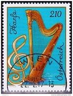 Austria Österreich 2017  Musikinstrumente (VII) 60. Geburtstag Von Falco  USED / O / GESTEMPELT - 2011-... Usati
