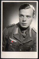 C3125 - 2. WK WW - Soldat Porträt Uniform - Uniformen