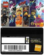 @+ Carte FNAC Fidelité - Lego Movie 2 (2019) - Carta Di Fedeltà E Regalo