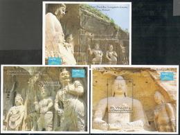 St Vincent,  Scott 2018 # 1926-1928,  Issued 1993,  3 S/S Of 1,  MNH,  Cat $ 18.00,  TAIPEI 93 - St.Vincent (1979-...)