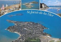 22 Saint Jacut De La Mer Les Plages Du Rougeret Et Du Châtelet Et L'Ile Des Ebihens (2 Scans) - Saint-Jacut-de-la-Mer