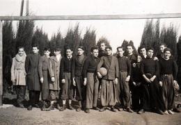 Photo Originale Equipe De Football Amateur & Pantalons De Golfeurs Vers 1930/40 ( Marseille ? ) - Sports