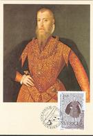 Sweden 1984 Stockholmia '86 Letters, Mi 1288 MaximumCard MK 9,Letter From King Erik XIV To Queen Elizabeth - Zweden