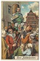 Der Falchspieler C1909 - E Nister - The Card Sharper - Fairy Tales, Popular Stories & Legends