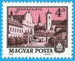 Hungria. Hungary. 1980. Mi 3441. City Of Szentendre - Hungría