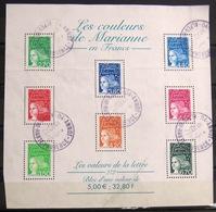 FRANCE                   B.F 45                 OBLITERE - Sheetlets