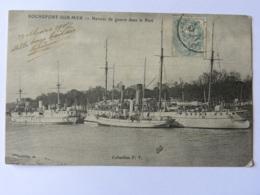 CPA (17) Charente Maritime - ROCHEFORT SUR MER - Navires De Guerre Dans Le Port - Rochefort