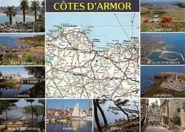 22 Les Côtes D'Armor Les Sites Touristiques (2 Scans) - Francia