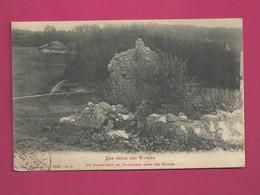 Les Cols Des Vosges - Un Campement De Douaniers Dans Des Ruines - Customs