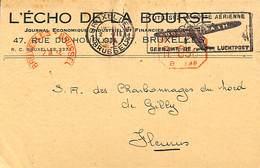 L'Echo De La Bourse - Rue Du Houblon (1934) - Petits Métiers