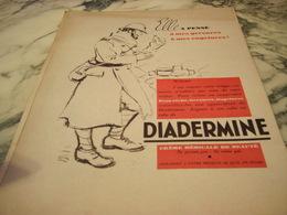 ANCIENNE PUBLICITE DIADERMINE 1940 - Affiches
