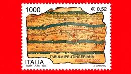 Nuovo - MNH - ITALIA - 1999 - Preparazione Al Giubileo - Tabula Peutingeriana - 1000 L. - 0,52 - 1946-.. République