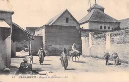 Maroc- MARRAKECH Bosqué  (Mosqué) De Berrima  (Editions : LL N°43) PRIX FIXE - Marrakech