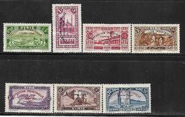 CD142  Syrie De 1929 N°192 à 198 N+ Exposition Industrielle De Damas - Syrie (1919-1945)